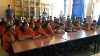 TRAFİK EĞİTİMİ - Kula'da Öğrencilere Uygulamalı Trafik Dersi