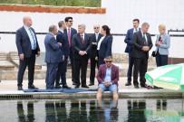 Makedonya Cumhurbaşkanı Ivanov 'Doktor Balıklar'a Hayran Kaldı