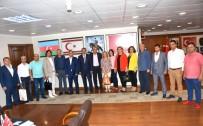 TAŞKıRAN - MHP İlçe Teşkilatı Başkan Alıcık'ı Ziyaret Etti