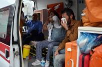 Milas'ta Yolcu Otobüsü Çöp Kamyonuna Çarptı Açıklaması 9 Yaralı