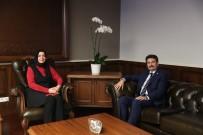 AYHAN SEFER ÜSTÜN - Milletvekili Üstün'den Bakan Kaya'ya Ziyaret
