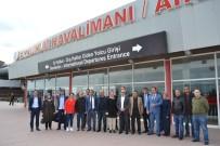 EĞİTİM DÜZEYİ - Öz Büro İş Sendikası Genel Başkanı Baki Gülbaba Erzurum'da