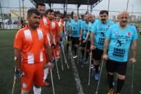 SAĞLıK VE SOSYAL HIZMET ÇALıŞANLARı SENDIKASı - Sağlık Sen Antalya'dan Engellilerle Ampute Maçı