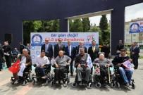 TÜRKIYE SAKATLAR DERNEĞI - Şahinbey'de 61 Engelliye Akülü Ve Tekerlekli Sandalye Dağıtıldı