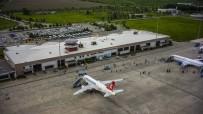 UÇAK TRAFİĞİ - Samsun'da Hava Yolcu Trafiği Yüzde 20 Artış Gösterdi