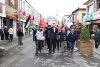 İLAHİYAT FAKÜLTESİ - Yozgat'ta Vatandaşlar Kudüs İçin Meydanlara İndi