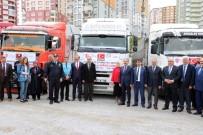 KEMAL YURTNAÇ - Yozgat'tan Yardım Tırları Doğu Guta Ve Afrin İçin Yola Çıktı