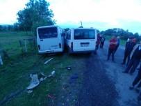 Zonguldak'ta Trafik Kazası;  3 Yaralı