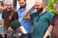 AYDıN ERGÜN - Afrin'de Görev Yapan 23 PÖH Antalya'ya Döndü