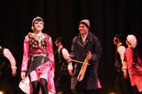 GÜNDOĞAN - Anadolu Üniversitesi'nde Halk Dansları Gecesi