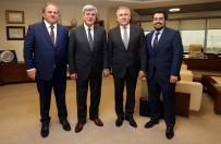 MACARISTAN - Başkan Karaosmanoğlu, Macaristan Büyükelçisini Ağırladı