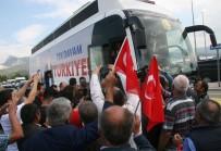 BENZIN - CHP'nin Cumhurbaşkanı Adayı İnce, Kendisini İzleyen Mahkumlara Seslendi