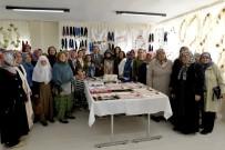 ÇUKURHISAR - Çukurhisar Belde Evi Kursiyerlerinin Yıl Sonu Sergisi Açıldı
