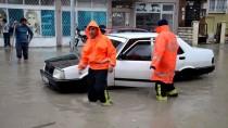KAZIM KARABEKİR - Karaman'da Sağanak Sele Neden Oldu