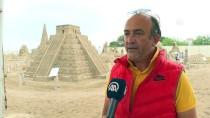 EYFEL KULESI - Kum Heykellerin Bu Yılki Teması 'Efsaneler'