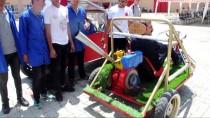 ARAZİ ARACI - Lise Öğrencileri Hurda Parçalardan Arazi Aracı Yaptı