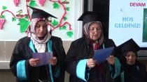 KANUNİ SULTAN SÜLEYMAN - Niğde'de Okuma Yazma Kursunu Tamamlayan Kadınlar Kep Attı