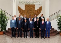 SAĞLıK SEN - Sağlık-Sen Genel Başkanı Memiş'ten Kurumlara Ziyaret