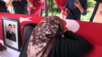 TUR YıLDıZ BIÇER - Şehit Jandarma Astsubay Kozak Son Yolculuğuna Uğurlandı
