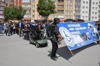 Seydişehir'de Engelleri Kaldıralım Yürüyüşü