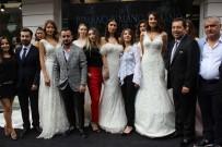 MANKENLER - Ünlü Mankenler Bursa'da Gelinlik Tanıttı