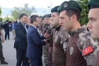 ENVER ÜNLÜ - Afrin'den Dönen Polisler Karşılandı