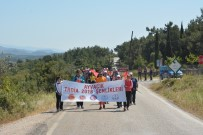 ÇANAKKALE ONSEKIZ MART ÜNIVERSITESI - Ayvacık'ta 10 Kilometrelik Doğa Yürüyüşü