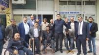 Başkan Gülenç'ten Engelliler Derneğine Ziyaret