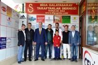 Biga GS Derneği Üyeleri Basın Mensupları İle Bir Araya Geldi
