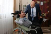 BEDENSEL ENGELLİ - Engelli Enes'in Hayali Gerçek Oldu
