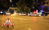 AĞIR YARALI - Kahramanmaraş'ta Feci Kaza Açıklaması 1 Ölü, 1 Yaralı