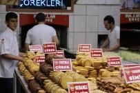 PEKMEZLI - Ramazan Çörekleri Tezgahlardaki Yerini Aldı