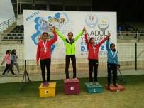 ÇAĞATAY HALIM - Sıla Ata, Atletizmde Türkiye Şampiyonu Oldu