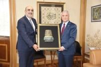 GÜNDOĞAN - TÜMSİAD Genel Başkanı Yaşar Doğan'dan Rektör Gündoğan'a Ziyaret
