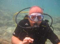 BESTAMI ALKAN - Vali Yardımcısı 40 Yılın Yorgunluğunu Denizin Dibinde Attı