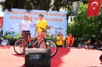 KONYAALTI BELEDİYESİ - 4.Köyüm Bisiklete Biniyor Şenliği'nde Renkli Görüntüler