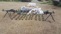 EL BOMBASI - Afrin'de 52 El Bombası Ve Yaşam Malzemesi Ele Geçirildi
