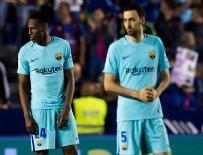 BARCELONA - Barcelona, sezonun ilk mağlubiyetini aldı