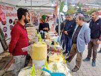ÇÖREK OTU - Başkan Vekili Epcim'den 'Yöresel Ürün Fuarı'na Ziyaret