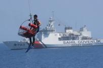 DENİZ KUVVETLERİ - Deniz Aslanı Arama Kurtarma Tatbikatında Gövde Gösterisi