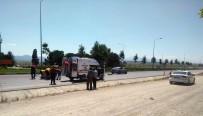 Denizli'de Trafik Kazası Açıklaması 1 Ölü, 1 Yaralı