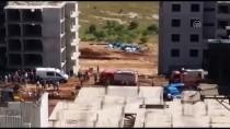 GAZIANTEP ÜNIVERSITESI - Gaziantep'te Kule Vinç Devrildi Açıklaması 1 Ölü, 1 Yaralı