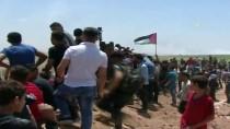 MÜLTECİ KAMPI - Gazze'nin İsrail Sınırındaki Gösterilerde 10 Ölü, En Az 500 Yaralı