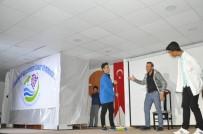 YUSUF ÖZDEMIR - Gölbaşı İlçesinde 'Vejetaryen Aile' İsimli Oyunu Sahnelendi
