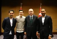 CENK TOSUN - İngiltere'de Top Koşturan Türk Yıldızlarla Buluştu