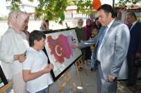 SELAMI KAPANKAYA - Niksar'da Özel Öğrencilerin Yıl Sonu Ürünleri Sergilendi