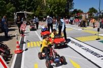 TRAFİK EĞİTİMİ - Öğrencilere Uygulamalı Trafik Eğitimi Verildi