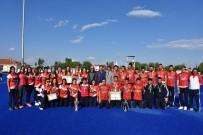 ALİ ŞAHİN - Polisgücü Kadın Hokeycileri Türkiye Şampiyonu