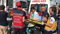 YEŞILTEPE - Sakarya'da Yük Asansörü Yere Çakıldı Açıklaması 3 İşçi Yaralı