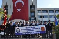 UZUN ÖMÜR - Salihlili Gaziler, Kıbrıs'a Uğurlandı